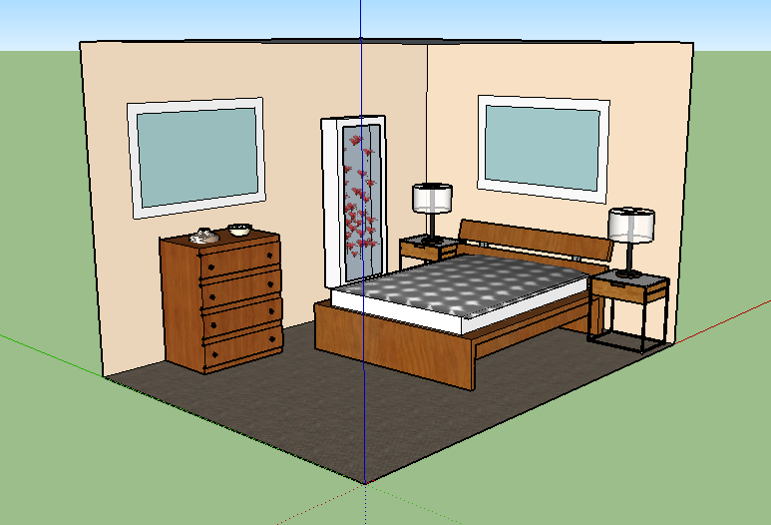 Bedroom View I