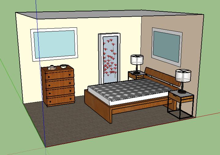 Bedroom View II