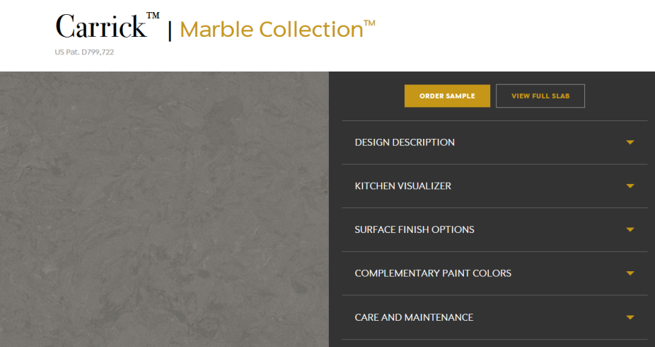 Carrick Marble Collection