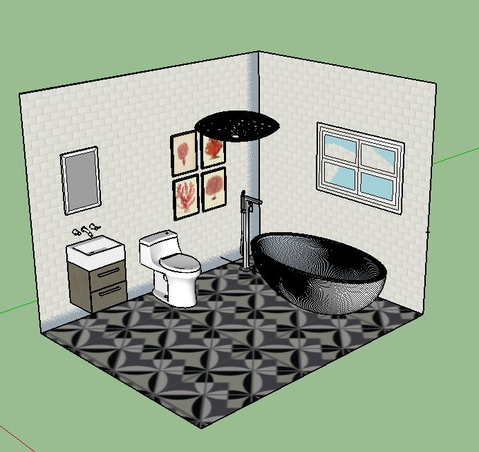 Contemporary bathroom V