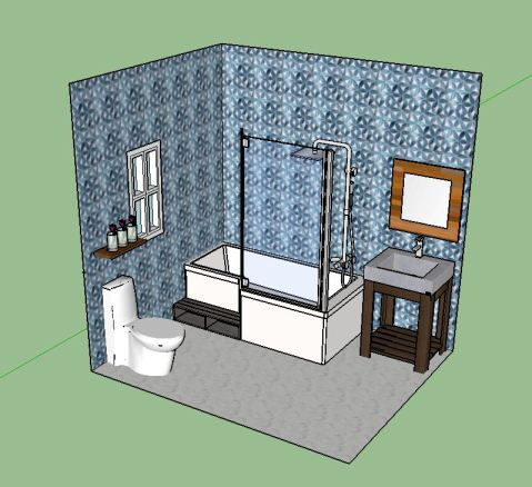 tilet bathroom IV