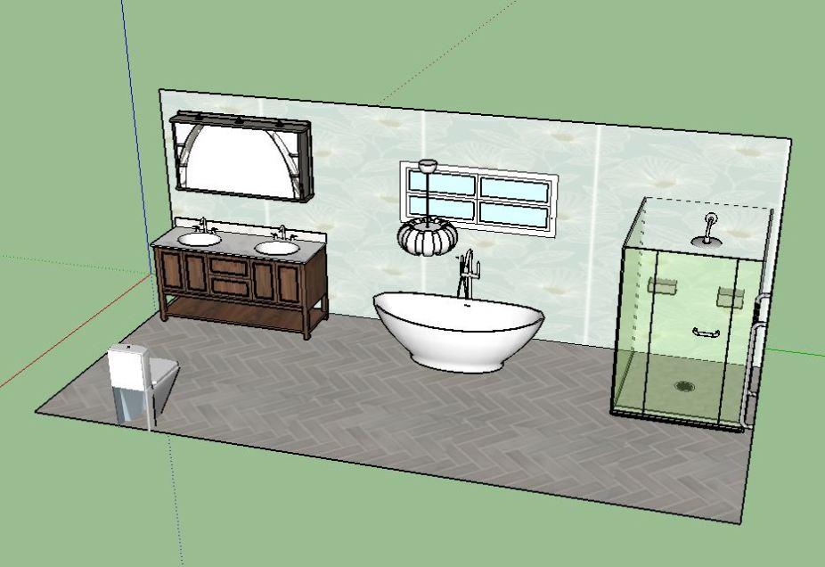 large bathroom III