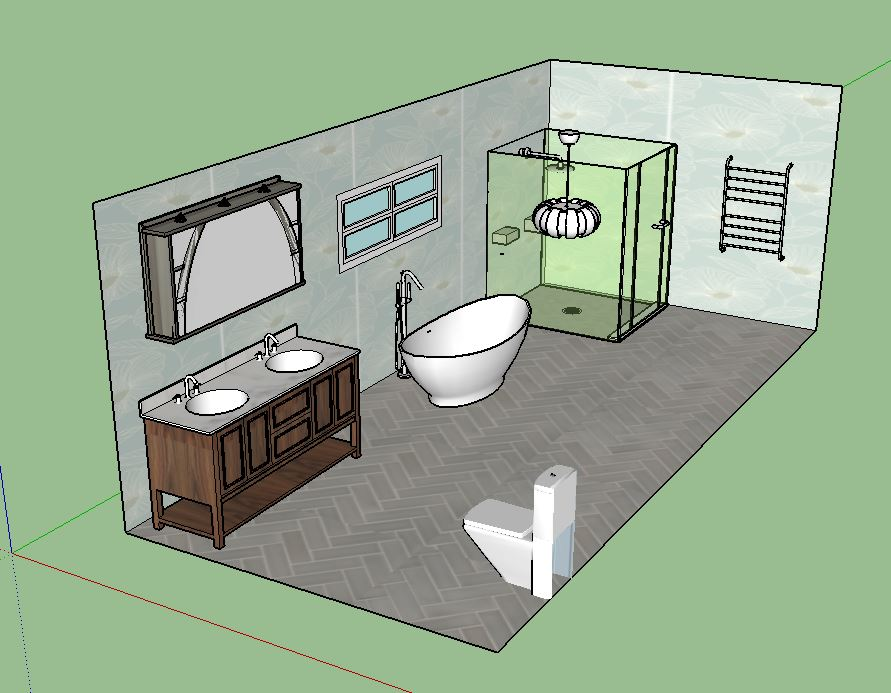 large bathroom VII