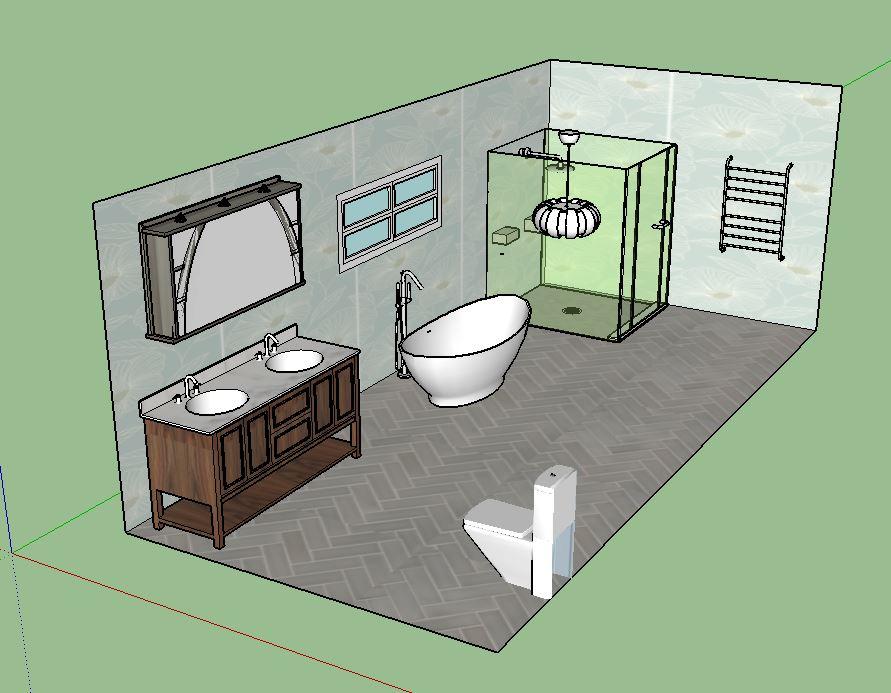 large bathroom VII